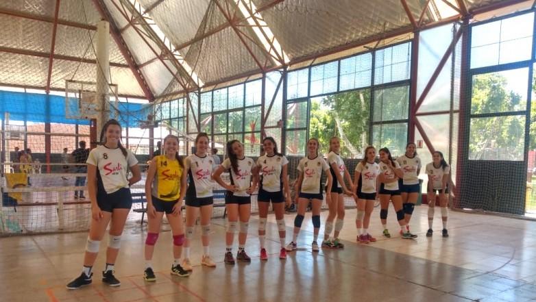 Juegos Binacionales: la selección sanjuanina de vóley femenino va por una medalla