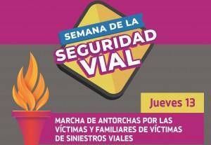 Se recordará a las víctimas de siniestros viales en una multitudinaria marcha