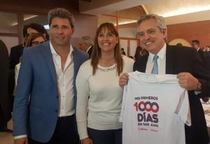 El presidente electo Alberto Fernández destacó el programa Mis Primeros Mil Días