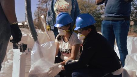 De escombrera a laboratorio de futuros técnicos mineros vallistos
