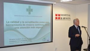Dieron inicio las Jornadas Científicas del Hospital Dr. Guillermo Rawson