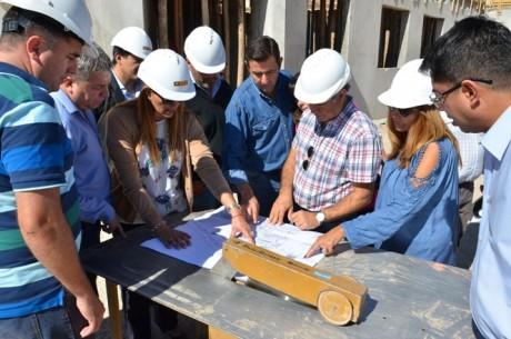 El nuevo hospital San Roque ya cuenta con el 40% de avance de obra