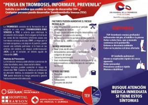 Semana de concientización sobre la Prevención de Trombosis