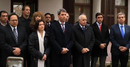 El Gobierno conmemoró el 25º aniversario del atentado a la AMIA
