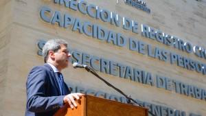 Inauguraron el moderno edificio que albergará a tres áreas claves del Estado