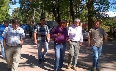 Autoridades de Desarrollo Humano visitaron Calingasta