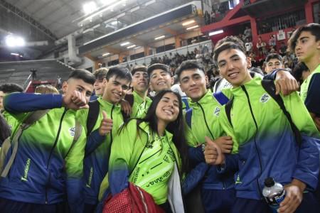 La delegación sanjuanina de los Juegos Evita Nacionales partió a Mar del Plata