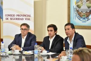El Consejo Provincial de Seguridad Vial sesionó en Pocito