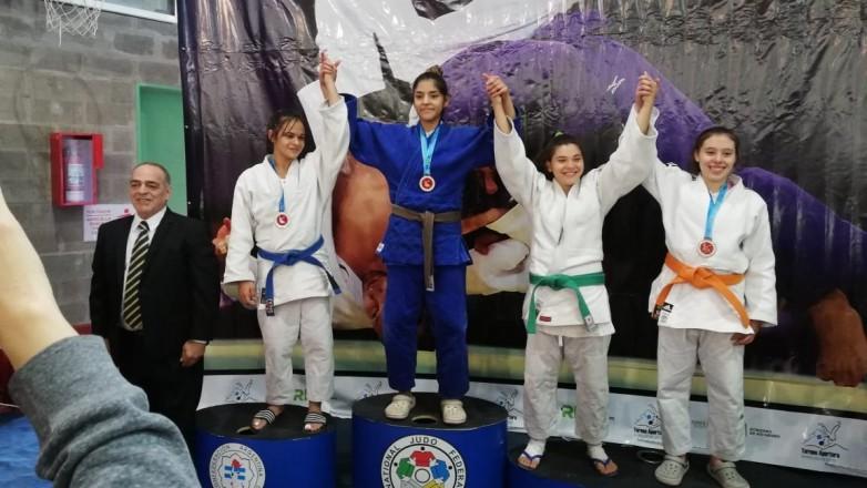 Ornella Gervasoni viajó a Buenos Aires para participar en un torneo internacional