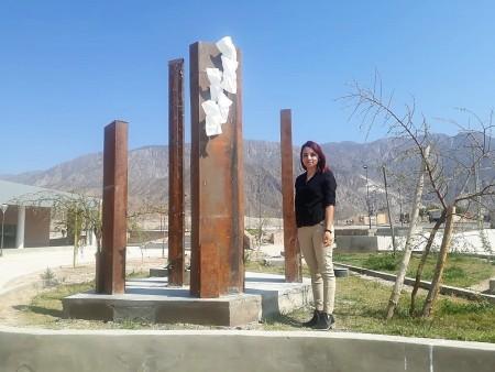 """""""Alegoría a la vida"""": la escultura que alaba al sol en el Parque Anchipurac"""