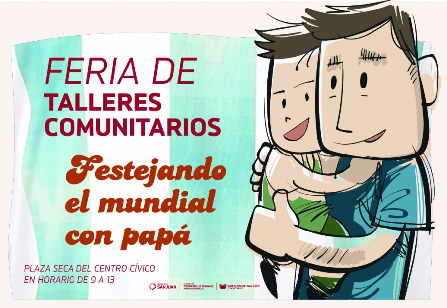 Feria de talleres comunitarios por el Día del Padre