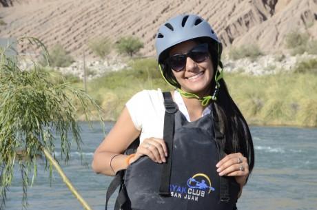 La Virreina del Sol disfruta del Mundial del kayak