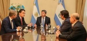 Embajador suizo se reunió con el gobernador