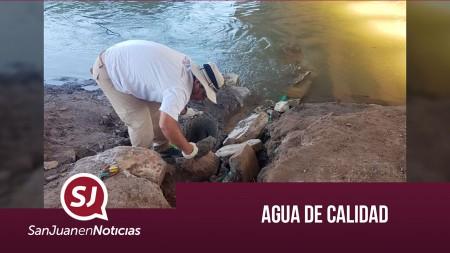 Agua de calidad   #SanJuanEnNoticias