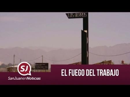 El fuego del trabajo | #SanJuanEnNoticias