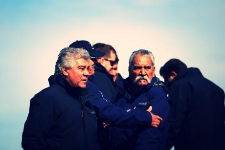 Los ex combatientes visitaron el monte Longdon en Malvinas