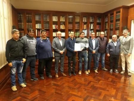 La Asociación de Fútbol de Rawson recibió la personería jurídica