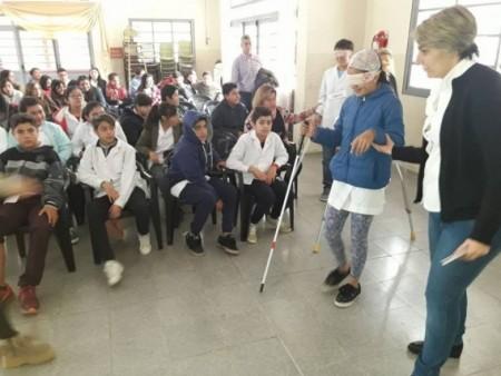 Los talleres del Programa Incluirte continúan recorriendo San Juan