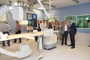 El gobernador visitó la Fase III del nuevo edificio del Hospital Rawson